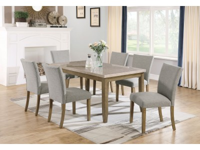 Miken 5 Pc Dining Table Set