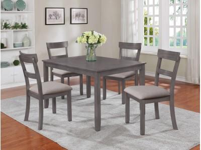 Kingston - Gray Dining Table Set