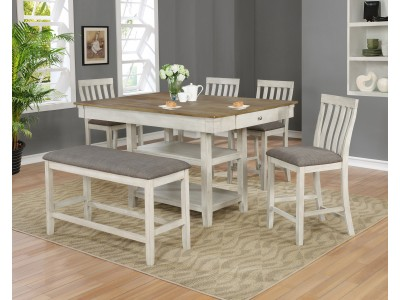 Sonja 5PC Counter Height Table Set