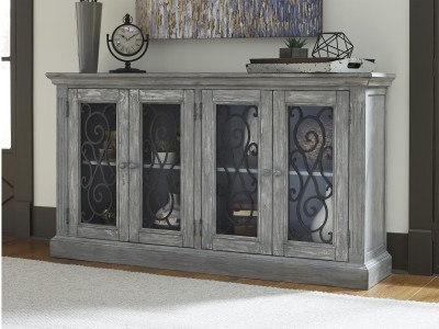 Crystal Accent Cabinet