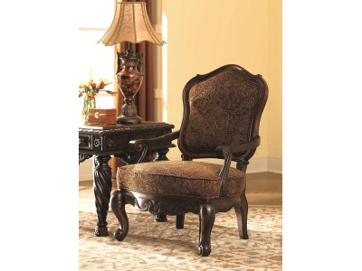 Cambridge - Dark Brown - Showood Accent Chair