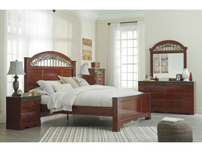 Fairbrooks Estates - King Bedroom Set (Clearance)