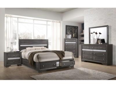 Janata - 4PC - Bedroom Set