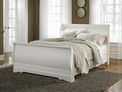 Coralin - Sleigh - Queen Bed