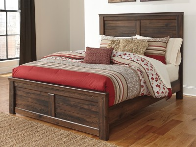 Quinn - Panel Bed