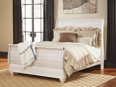 Marie - Sleigh Bed