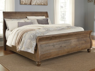 Star - Sleigh Bed
