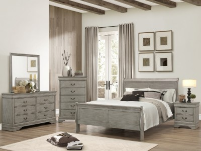 Hamilton - 4PC Sleigh Bedroom Set