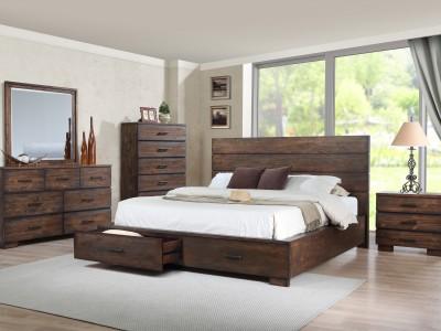 Cranston 4PC Storage Bedroom Set