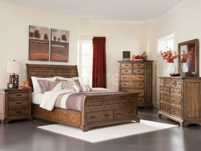 Elke Grove Collection Bedroom Set