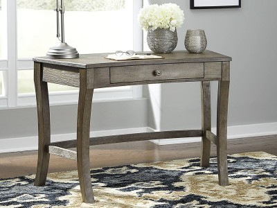 Vintelli - Grayish Brown - Home Office Desk