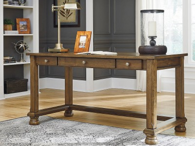 Liberty Island - Medium Brown - Home Office Desk