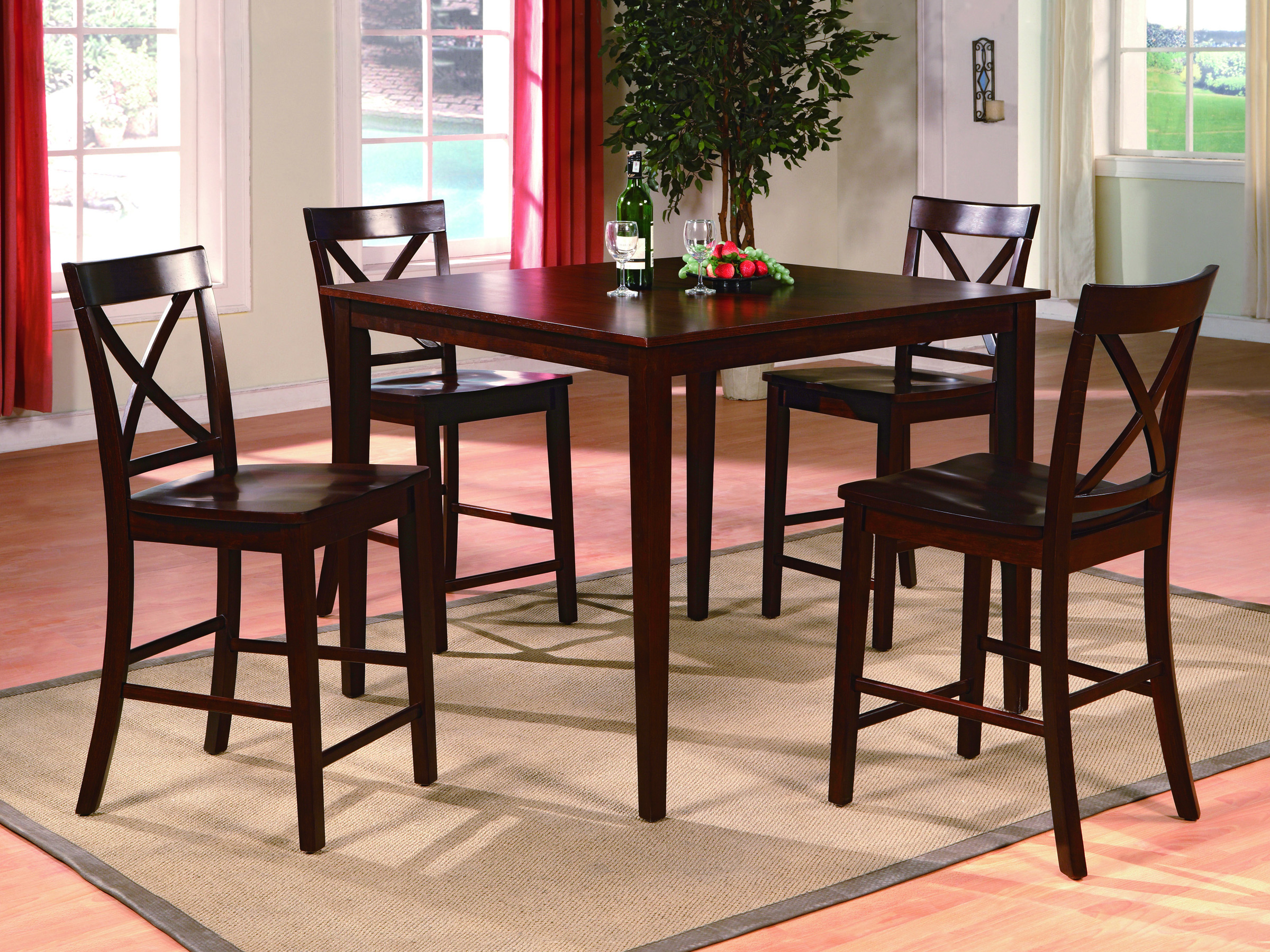 Marco   5PC   Counter Height Dining Set