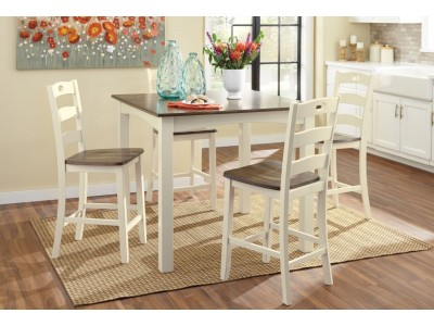Woodsville - Counter Height Table Set