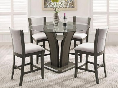 Amelia - 5PC - Counter Height Dining Set