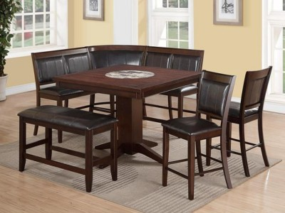 Denisson - 5PC - Counter Height Table Set