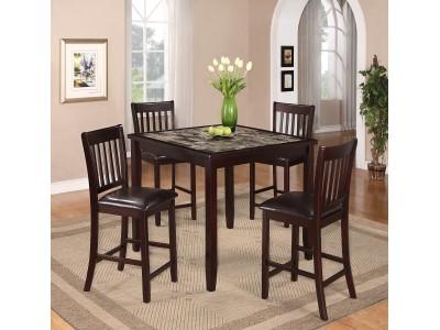 Cascada - 5PC - Counter Height Table Set