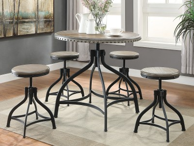 Hendrix - Round Dining Table Set