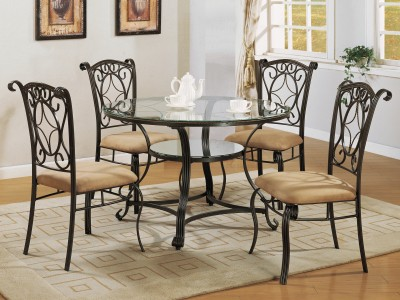 Jesse - Round Dining Table Set