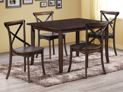 Farris Round Dining Table Set