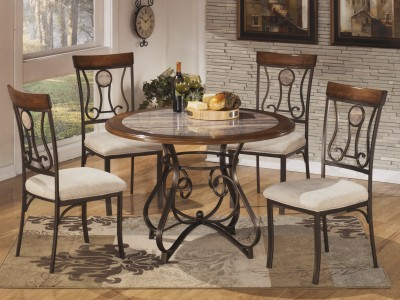 Hillary - Round Dining Table Set