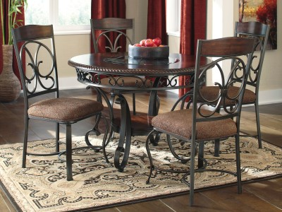 Greily Round Dining Table Set
