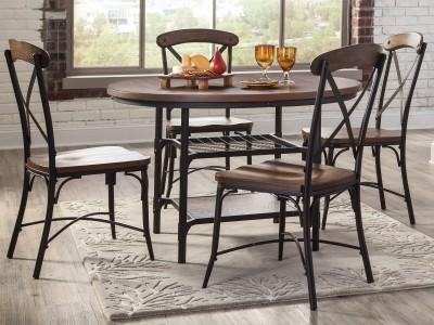 Ramzes - Round Dining Table Set