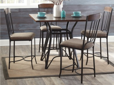 Zeni - Counter Height Table Set