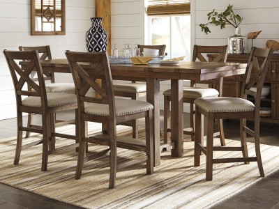 Gansville - Counter Height Table Set