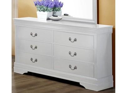 Louis Philip - White Dresser