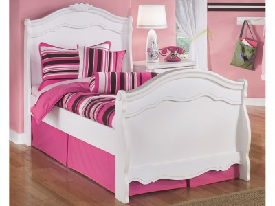 Exquisite Kids Twin Sleigh Bed 7B188T7