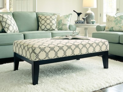 Franceska -  Oversized Accent Ottoman