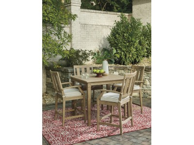 Clare View 5 Piece Outdoor Table Set