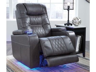 Moises - Power Recliner W/ Adjustable Headrest