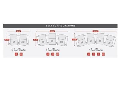 Pavillion Home Theater Seats Black