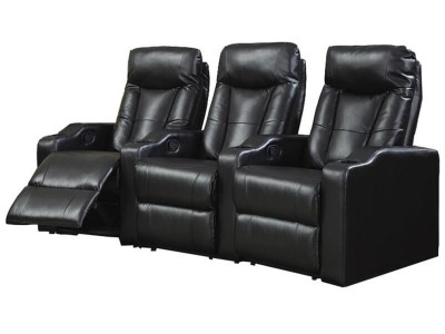 Home Theater Seating Black