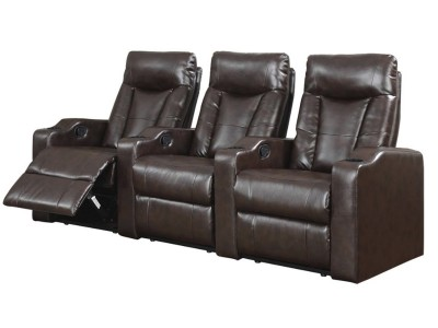 Home Theater Seating Espresso