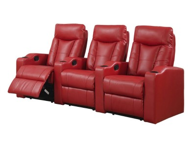 Home Theater Seating Red