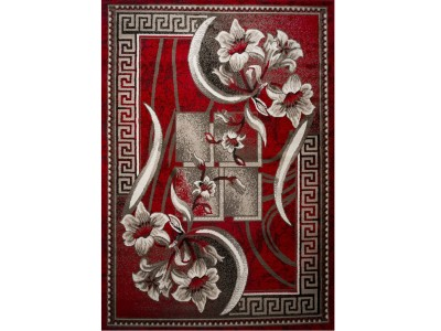 F Collection Red Rug