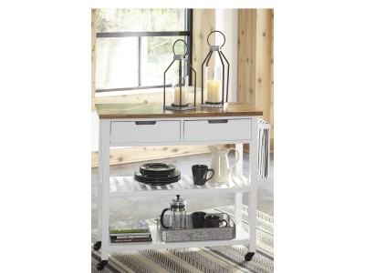 Felicity Kitchen cart Server Cabinet