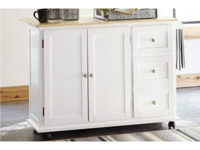 Frasca Server Kitchen Cart Cabinet