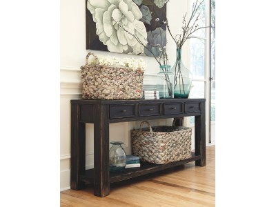 Galveston - Black - Sofa Table