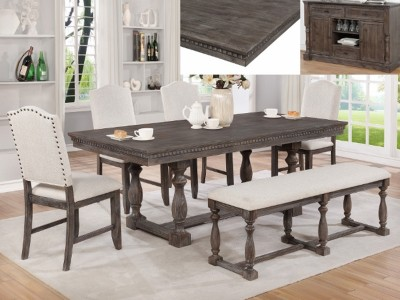Albert - 5PC - Dining Table