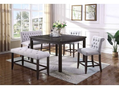Adams 5PC Counter Height Table Set