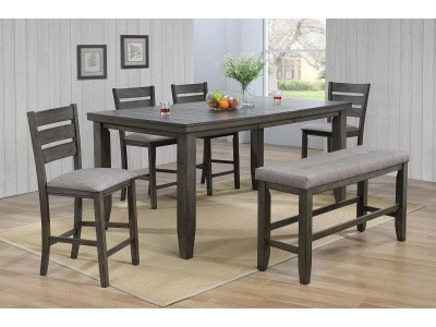 Boston 5PC Counter Height Table Set