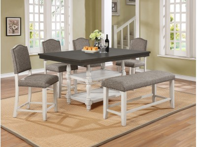Daisy 5PC Counter Height Table Set