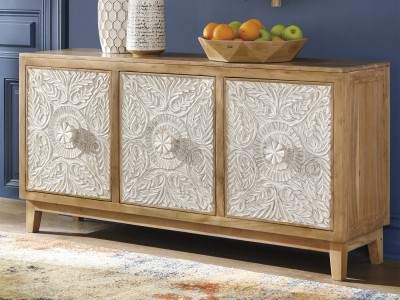Ursula Accent Cabinet TV stand Server