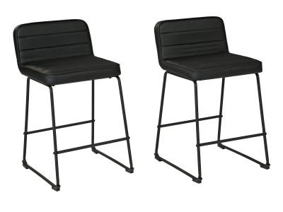 "Cecina (34"") - Upholstered Barstool (2/CN)"