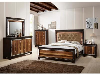 Zelda LED - 4PC - Bedroom Set