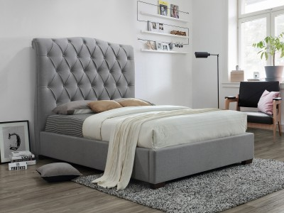 Candace Bed - Grey